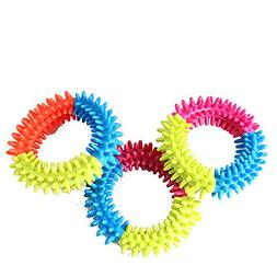 BECKY,3/5 Pcs Pets Toy 3.9'' Play Strong Tough Virtually Ind