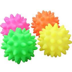 Ball Toy for Puppy, OOEOO New Dog Pet Fun Spikey Ball Biting