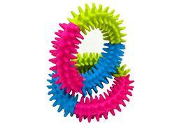 BleuMoo Pet Dog Puppy Cat Toy Chew Rubber Ring Dental Teethi