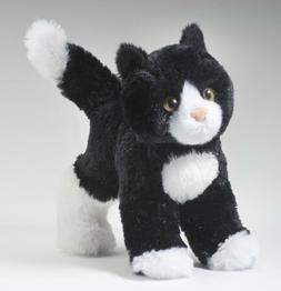 Cuddle Toys 4092 20 cm Long Snippy Black and White Cat Plush