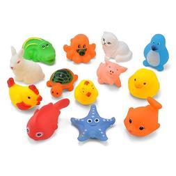 Dds5391 New Popular Children's Toys 13Pcs Baby Kid Animal Du