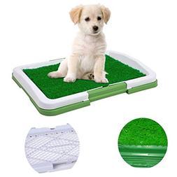 Dog Puppy Training Pad Indoor Potty Trainer Grass Pee Pad fo