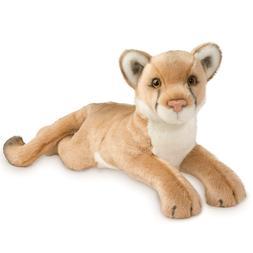 "Douglas Kelso Mountain Lion 20"" Plush Stuffed Animal Wild Ca"