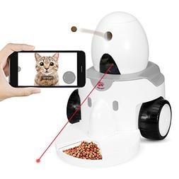 FUNPAW Playbot Q Pet Camera & Pet Feeder: Play, Video Chat &