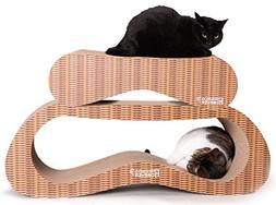 Friends Forever Jumbo Cat Scratcher Cardboard Lounger, 2 in