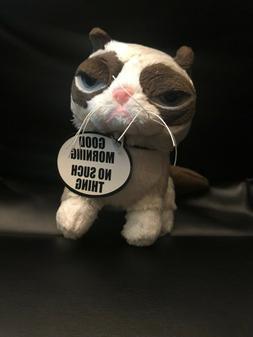 """Grumpy Cat """"I HAD FUN ONCE IT WAS AWFUL"""" Plush Stuffed Anima"""