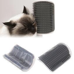 Hukai Cat Self Groomer Pets Hair Removal Tool Auto Massage B