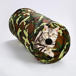 Jocestyle Collapsible Funny Pet Cat Play Tunnel Tubes Kitten
