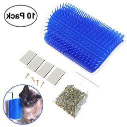 KOBWA Cat Self Groomer Brush, Cat Grooming Hair Removal Brus