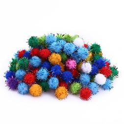 KOIPLUS Assorted Color Sparkling Balls My Cat's All-Time Fav