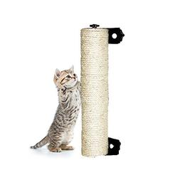 "LUCKSTAR Cat Scratching Post - 13.8"" Wall Mounted Sisal Scra"