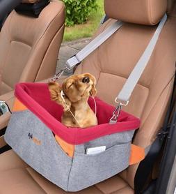 Legendog Dog Car Seat, Pet Booster Portable Travel Pet Car S