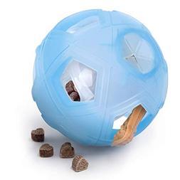 "LumoLeaf Dog Treat Ball, 5"" Interactive IQ Treat Dispensin"