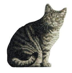 Manual Cat Shaped Pillow, 11 X 16-Inch