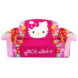 Marshmallow Furniture, Children's 2 in 1 Flip Open Foam Sofa
