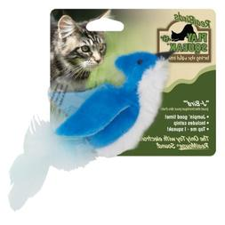 OurPets Play-N-Squeak Real Birds J-Bird Interactive Cat Toy