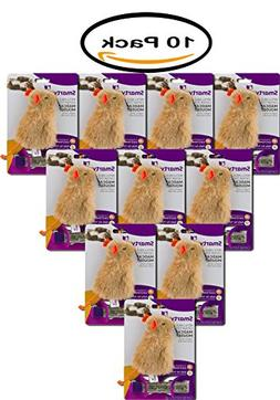 PACK OF 10 - Smarty Kat: Certified Organic Catnip And Dispen