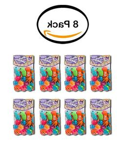 PACK OF 8 - Hartz Just For Cats 13 Piece Variety, Cat Toy