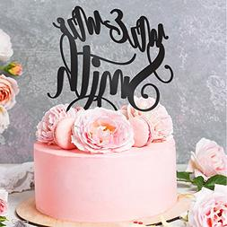 Personalized Wedding Cake Toppers Mr and Mrs Cake Topper - B