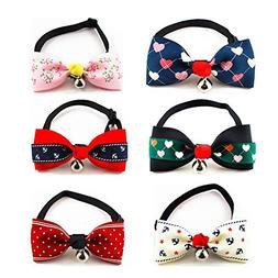 PetFavorites trade; Designer Fancy Pattern Dog Cat Pet Bow T