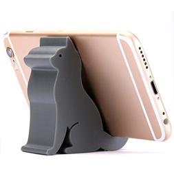 Plinrise Mini Cat Shape Cute Cell Phone Mounts Candy Color C