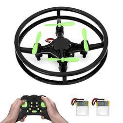 RC Mini Drone Quadcopter, 2.4GHz 4-Axis Upgraded Nano Pocket