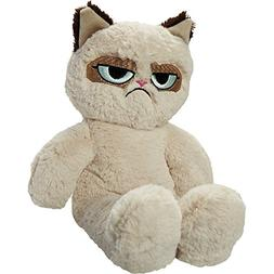 Rosewood Grumpy Cat Plush Dog Toy