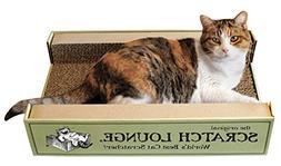 Scratch Lounge The Original Worlds Best Cat Scratcher - Incl