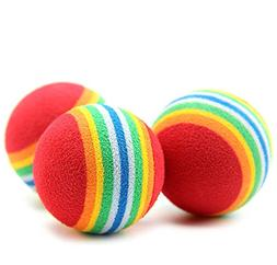 Victory,Rainbow EVA Material Chew Toy Balls - Training Inter