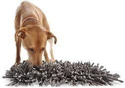 Wooly Snuffle Mat - Feeding Mat for Dogs  - Grey Feeding Mat