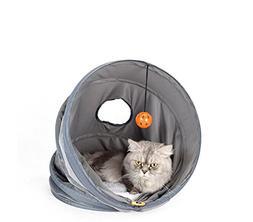 Zero Tunnel Collapsible Kitten Interactive Hide Toy ST-63980