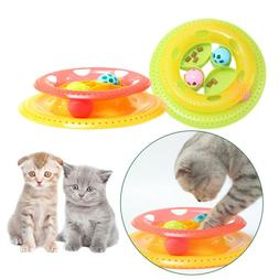 Activity Food Bowl Kitten Crazy Ball Cat Turntable Pets Inte