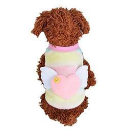 Alalaso 2018 Pet Cat Dog Puppy Warm Knit Coat Clothes Vest J