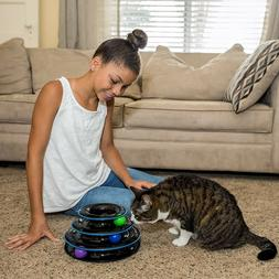 Amazing Cat Roller Toys By Easyology Pets: Super Fun 3-Level