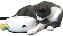 PetFusion AMBUSH INTERACTIVE Cat Toy with electronic rotatin