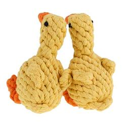Angry Duck,Dog Toys Rope Chew Teeth Cleaning