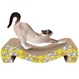 Animals Favorite Cat Scratcher Cardboard