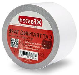 XFasten Anti-Scratch Cat Training Tape, 3-Inches x 30-Yards