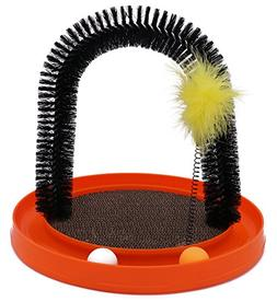 AITAMEI Arched Brush Massage Pet Cat Claws Self Grooming Cat