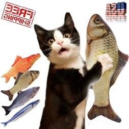 Artificial Fish Plush Cat Toys Mint Catnip Pet Supplies Slee