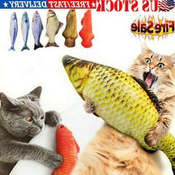 Artificial Fish Plush Pet Cat Puppy Dog Toys Sleeping Toy Mi