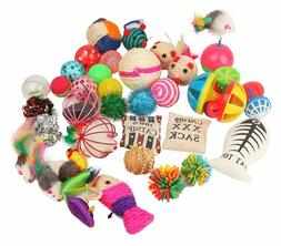 Assorted Cat Toys Variety Pack for Kitty 20 PCS Entertaining