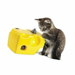 Animal Planet Automatic Peek-a-Boo Mouse & Cheese Interactiv