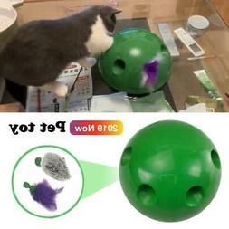 Automatic Pop N Play Interactive Motion Cat Toy Mouse Tease