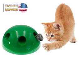 Automatic Pop Up Peekaboo Interactive Motion Cat Play Toy Mo