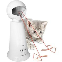 Automatic Rotating Laser Pet Cat Toy - Interactive, Fun For