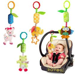 Baby Hanging Toys Playpen Stroller Rattles Plush Doll Infant