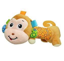 Aimeio Baby Kids Shake Rattle, Cartoon Stuffed Animal Soft P