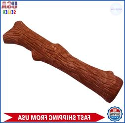 Petstages Bacon Dogwood Durable Real Wood - Chew Dog toy - S