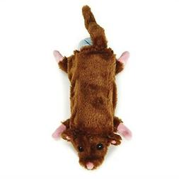 Zanies Barnyard Unstuffies Dog Toys, Large Mouse, 22""